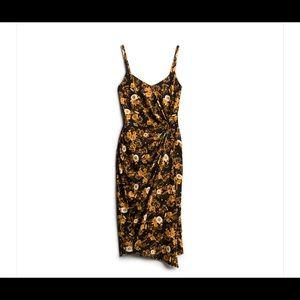 NWT! Asymmetrical Nine Britton Midi Dress